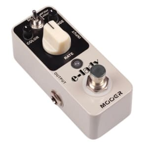 MOOER  E-Lady Analog Flanger/Filter MICRO Guitar Effect Pedal True Bypass New! Free US Shipping