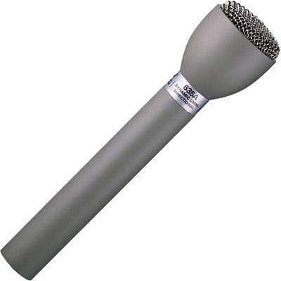 Electro-Voice 635A Classic Omnidirectional ENG Interview Microphone - Fawn Beige