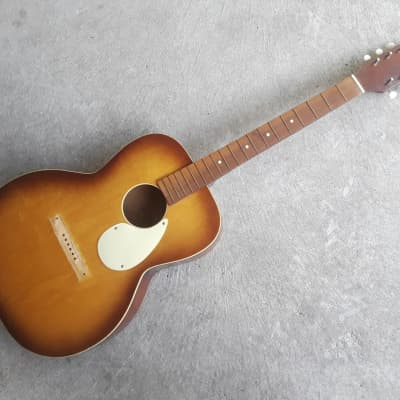 60's Kay Concert Flattop Acoustic Guitar (needs bridge) for sale