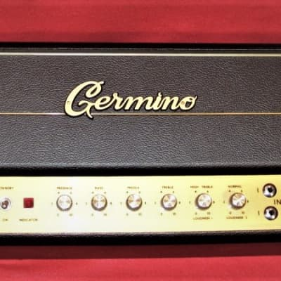 Germino Classic 45 without Master Volume 2010 Black Tolex for sale