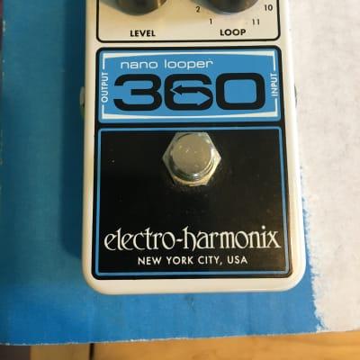 Electro-Harmonix Nano Looper 360 Guitar Looper Pedal