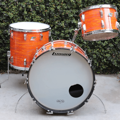 """Ludwig No. 980 Super Classic Outfit 9x13 / 16x16 / 14x22"""" Drum Set (3-Ply) 1969 - 1976"""