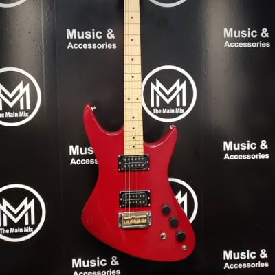 Quest ATAK II Electric Guitar Red w/Case for sale