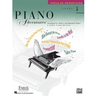 Piano Adventures: A Basic Piano Method - Popular Repertoire Level 5