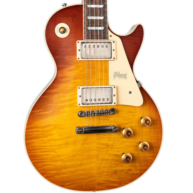 Gibson Custom Shop 1958 Les Paul Standard Reissue Slow Fade Reverb