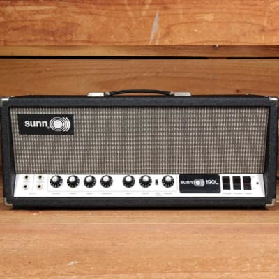 SUNN 190L BASS GUITAR O))) Vibrato Reverb! Super Clean Vintage 60s Tube amp Head FREE Ship! 101119 for sale