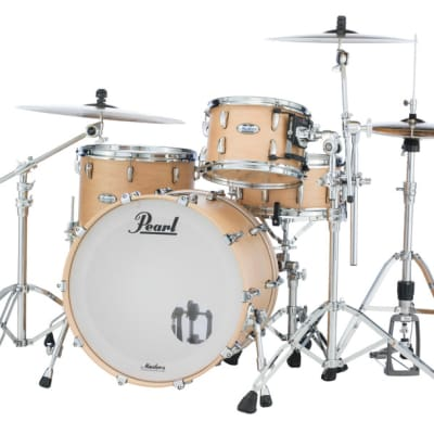 Pearl Masters Maple Complete 3-pc. Shell Pack MCT943XP/C111 MATTE NATURAL MAPLE