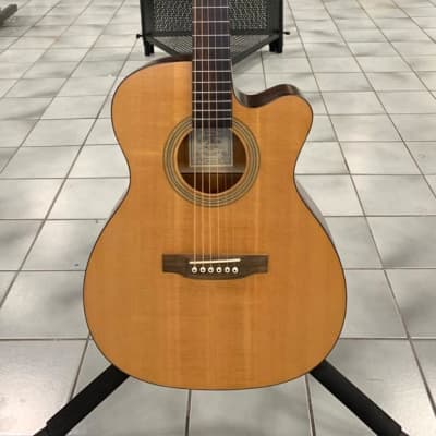 Recording King ROM-06-CFE4 Electro Acoustic, Natural for sale