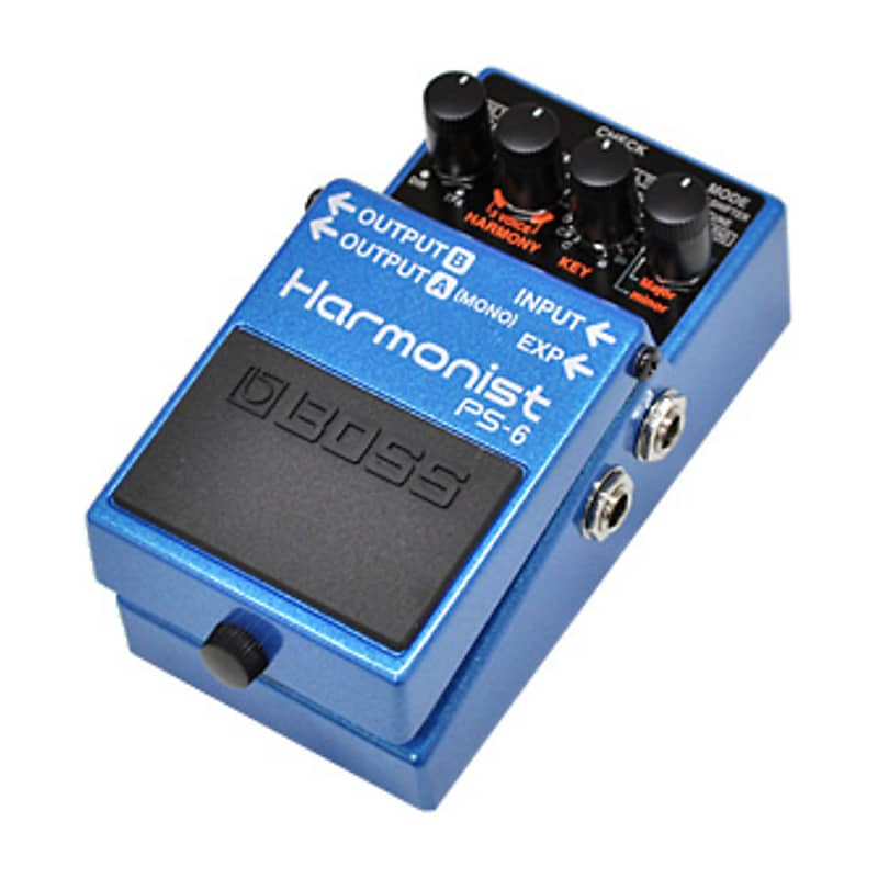boss ps 6 harmonist pitch shifter pedal bundle geartree reverb. Black Bedroom Furniture Sets. Home Design Ideas
