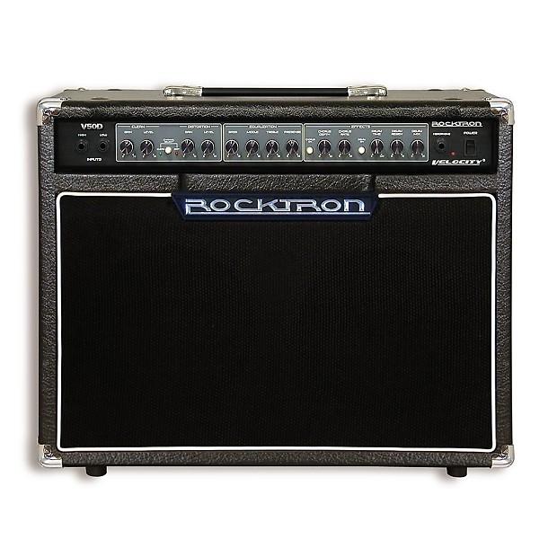 rocktron v50d velocity 50 watt 2x8 guitar combo amp with reverb. Black Bedroom Furniture Sets. Home Design Ideas