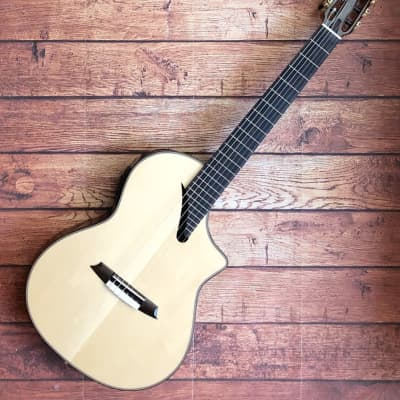 Martinez MSCC-14RS SOLID spruce/Rosewood nylon string guitar for sale