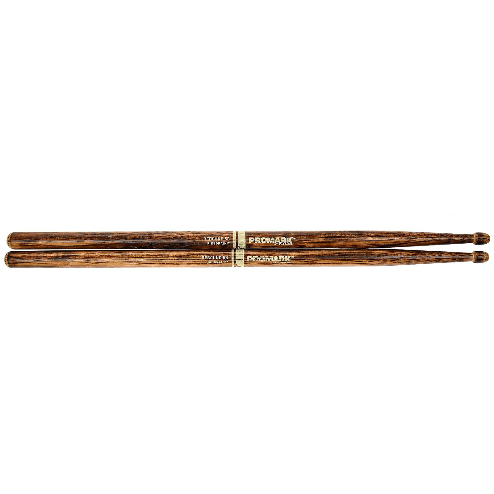 Promark American Hickory Forward 5B Firegrain Drum Sticks