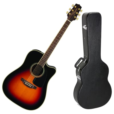 Takamine GD51CE BSB Acoustic/Electric Guitar Bundle