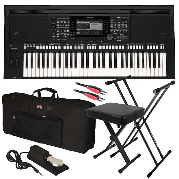 dac2975de3 Yamaha PSR-S775 Arranger Workstation Keyboard STAGE | Reverb