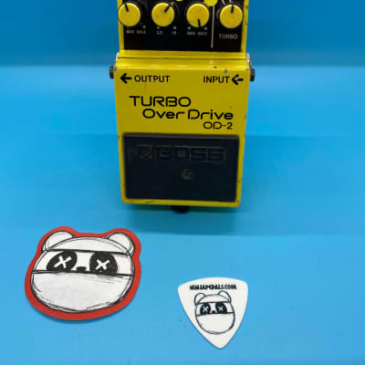Boss OD-2 Turbo OverDrive | Rare Made in Japan -Black Label | Fast Shipping!