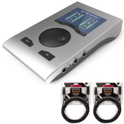RME Babyface Pro 24-Channel USB Interface + 2 Mogami Gold Studio XLR Cables 15ft image