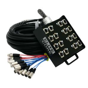 Elite Core Audio PS124100 Elite Core 12x4-Channel XLR Snake - 100'