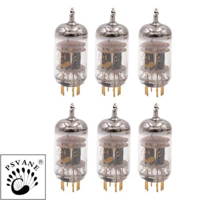 Gain Matched Sextet (6) Psvane 12AU7-T MKII ECC82 Vacuum Tubes Ships from US