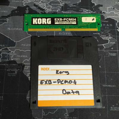 Korg EXB-PCM04 Dance Extreme 16mb PCM Expansion Board