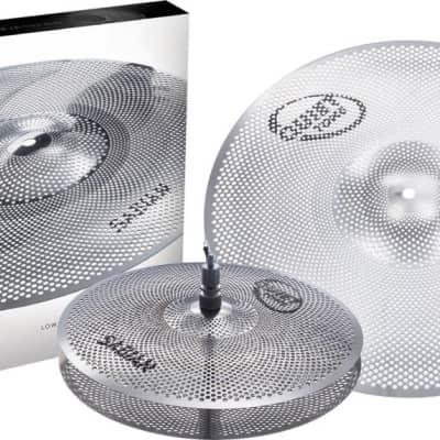 """Sabian Quiet Tone 3pc Low Volume Practice Cymbals, 13"""", 18"""""""
