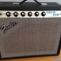 Fender Princeton Reverb 1973 Silverface image