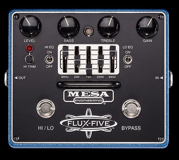 mesa boogie flux five overdrive guitar effect pedal graphic reverb. Black Bedroom Furniture Sets. Home Design Ideas