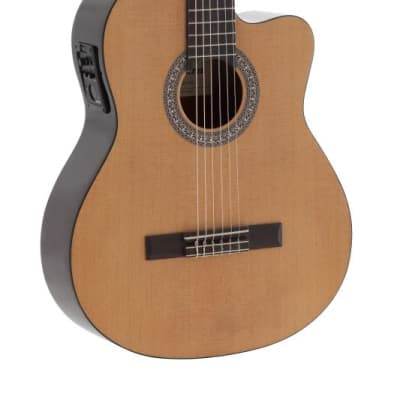 Admira Beginner Series Sara Electro Cutaway Guitar with Oregon Pine Top