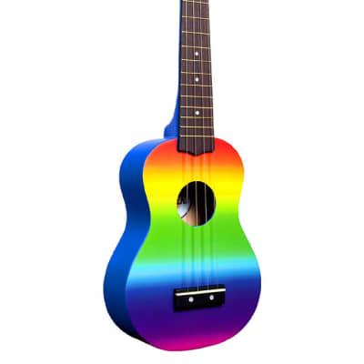 Amahi Rainbow Soprano Ukulele DDUK1 for sale