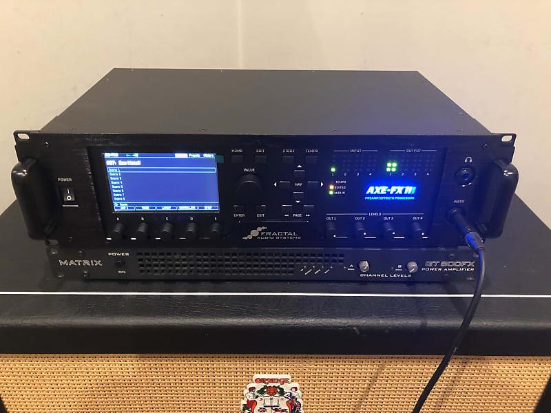 Fractal Audio Axe Fx 3 With Matrix GT800fx