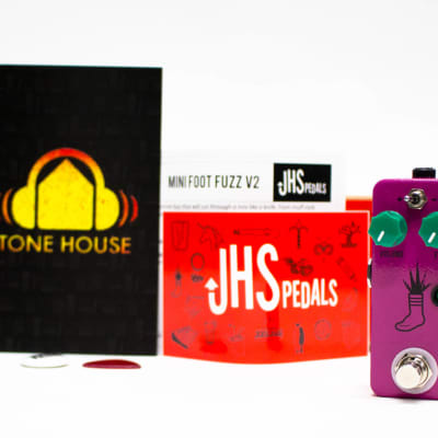 JHS Pedals Mini Foot Fuzz V2 Guitar Effects Pedal