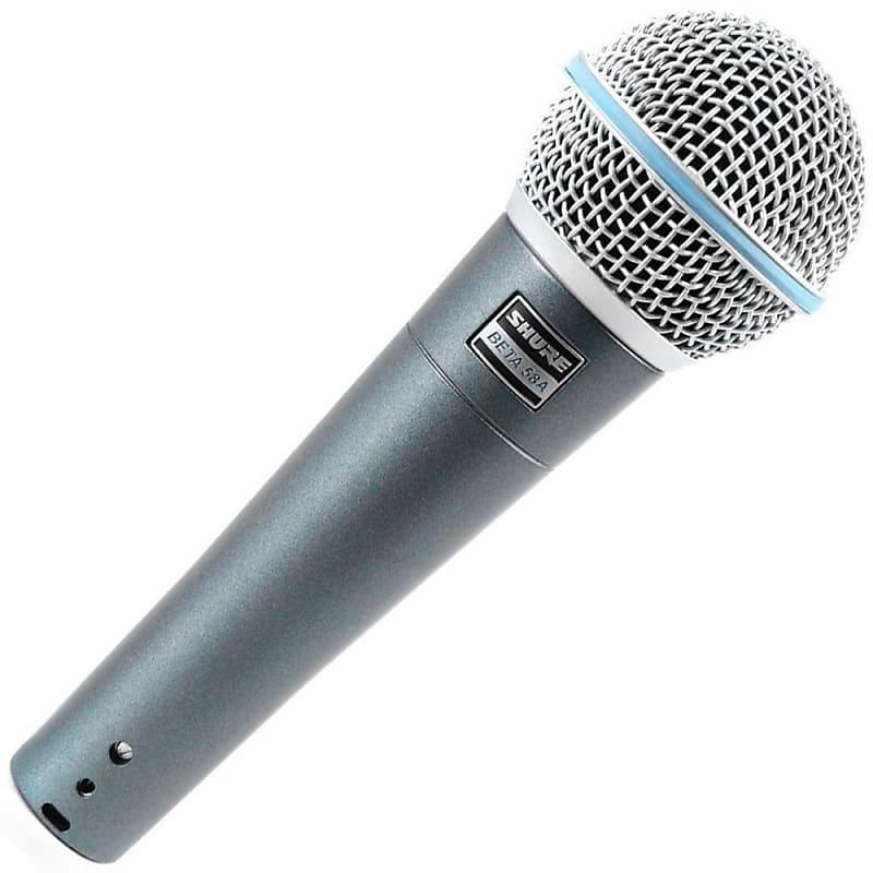 Shure Beta 58A Supercardioid Dynamic Vocal Microphone Beta58a Mic FEDEX 2 DAY!!