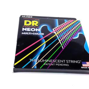DR Guitar Strings Electric Neon Multicolor 10-46