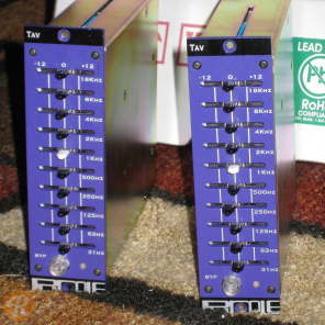 Purple Audio TAV 500 Series Graphic EQ Pair