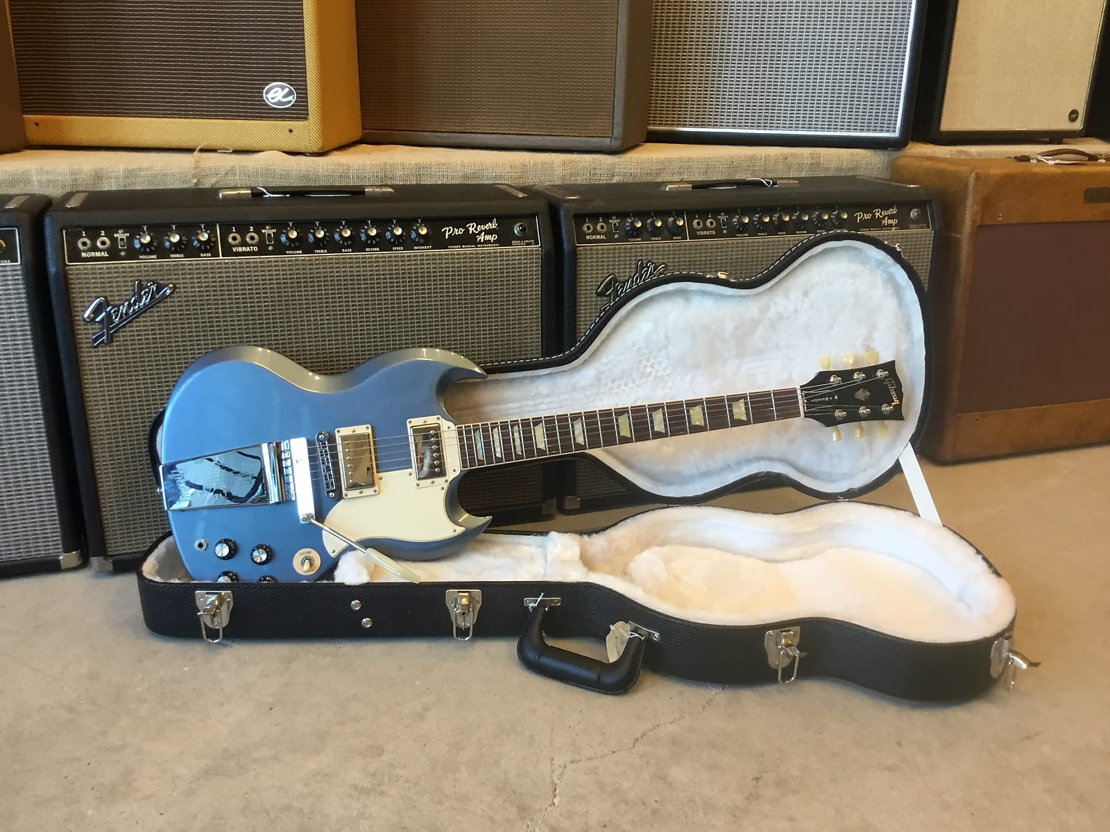 Gibson Jeff Tweedy SG Blue Mist 2012