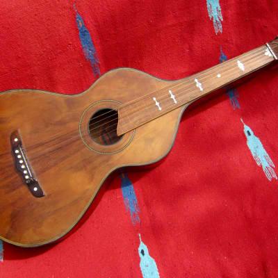Hilo model 670 all Koa Hawaiian steel guitar 1920s vintage Weissenborn style hollow neck for sale