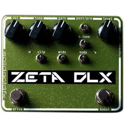 SolidGoldFX Zeta DLX Overdrive/Preamp