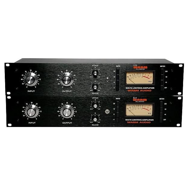 warm audio wa76 stereo linked pair zenpro audio reverb. Black Bedroom Furniture Sets. Home Design Ideas
