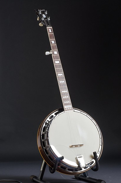 Gibson RB-150 Style 5-string Banjo Conversion Neck with Bowtie Inlay - Made  by Frank Neat