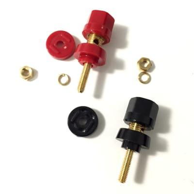 Power Amp Banana Plug Binding Posts Single 2 pc Set