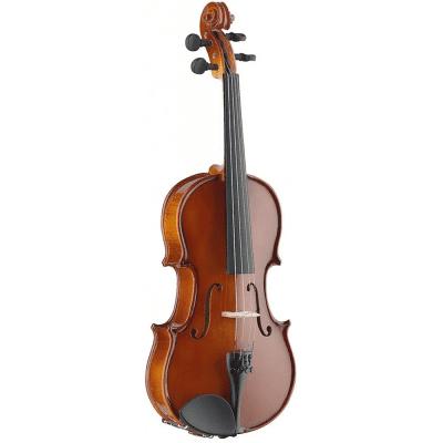 Stagg VN-3/4-EF 3/4-Size Solid Spruce Top/Ebony Fingerboard Violin w / Soft Case