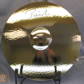 "Paiste 19"" Signature Reflector Heavy Full Crash Cymbal Brilliant"