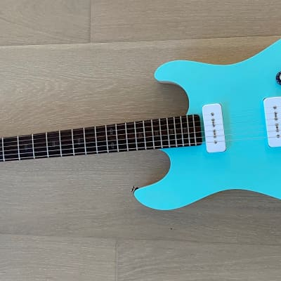 PJD Guitars Woodford Hybrid 2021 Sea Foam Green (New Condition) for sale