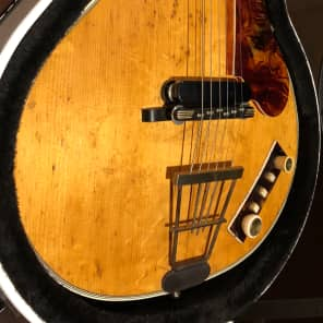 Hofner Club 60 1959 Natural for sale