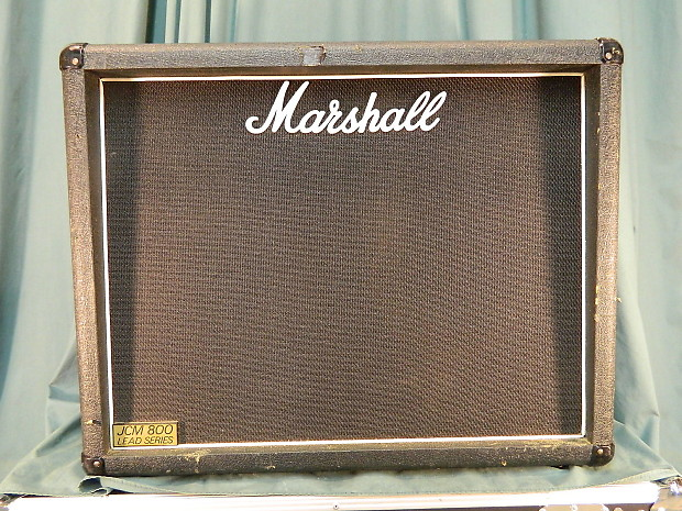 Marshall JCM 800 1936 2x12 Cabinet - Unloaded or Loaded | Reverb