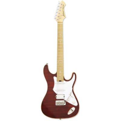 Aria Pro II  714 Mk2 Ruby Red Electric Guitar for sale