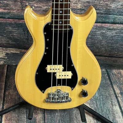 Used Westbury Track 2 MIJ 4 String Electric Bass with Case - Natural for sale