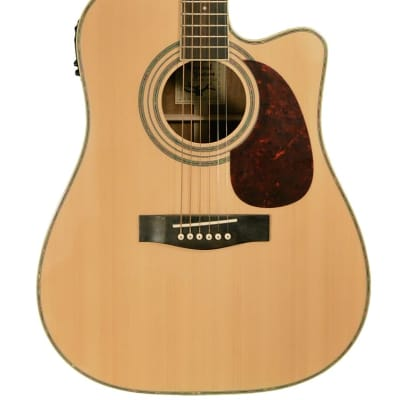 Revival RG-12CE Dreadnaught Cutaway Spruce Top Rosewood 6-String Acoustic-Electric Guitar for sale