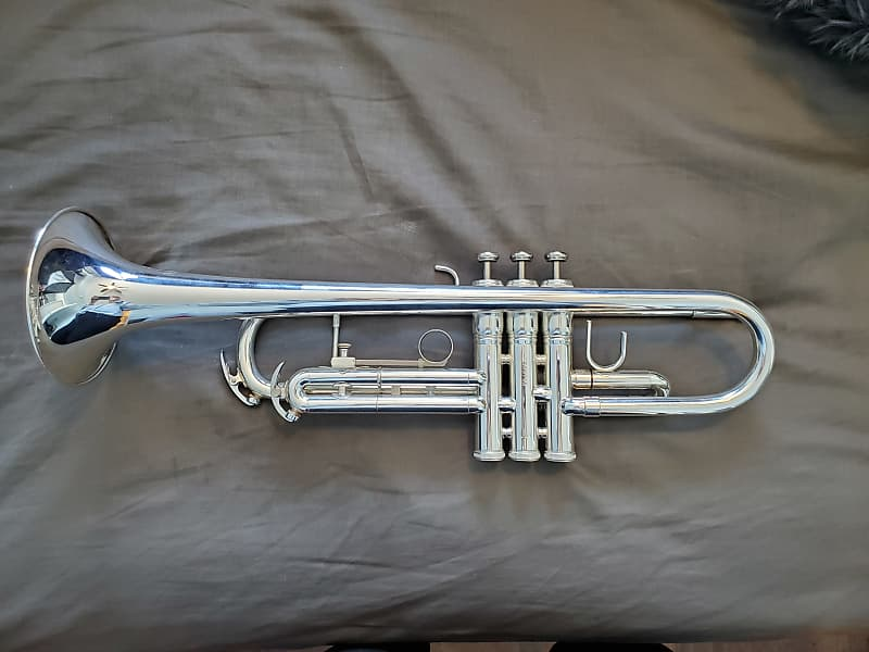 Conn 23B 2013 Silver plated Trumpet   JessicaV
