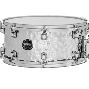 """Mapex MPST4658H MPX 14x6.5"""" Hammered Steel Snare Drum"""
