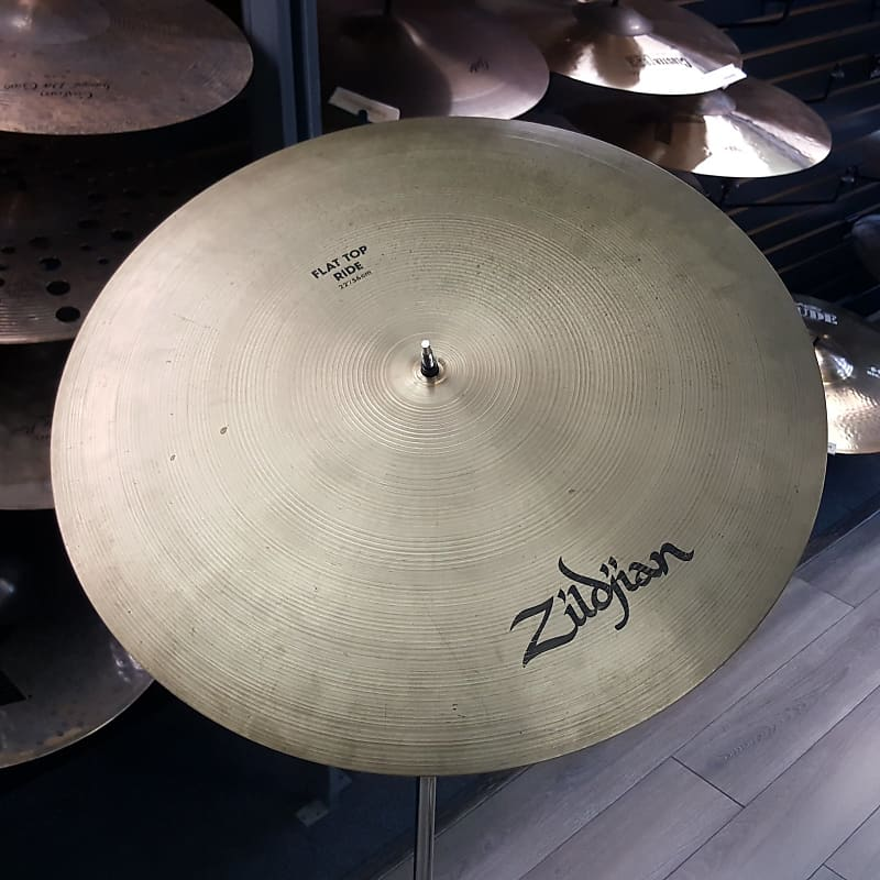 used zildjian 22 a flat top bell ride cymbal 3630g reverb. Black Bedroom Furniture Sets. Home Design Ideas